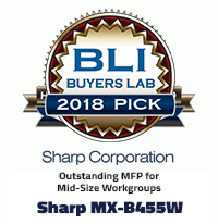 MX-B455W Buyers Pick Award 2018
